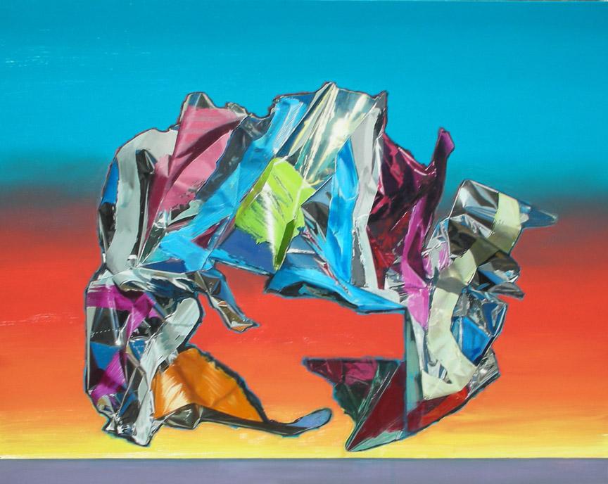 Hugh Davies: Paintings