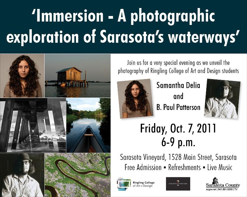 Immersion – A photographic exploration of Sarasota's waterways