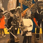 "Romare Bearden close up from ""On the Block"""
