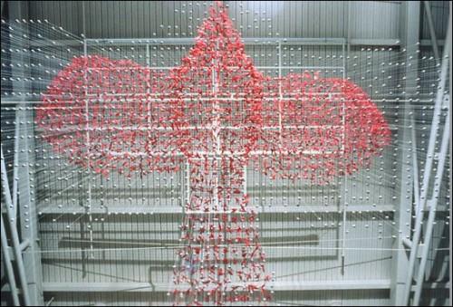 Rara Avis Detail, Ralph Helmick & Stuart Schechter, 2001