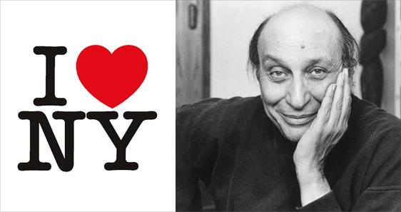 Milton glaser i love new york logo