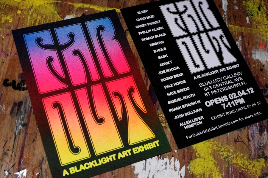 FAR OUT: A Black Light Art Exhibit