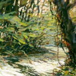 Joseph-Melancon---A-WALK-IN-THE-CREEKBED-15x22-th