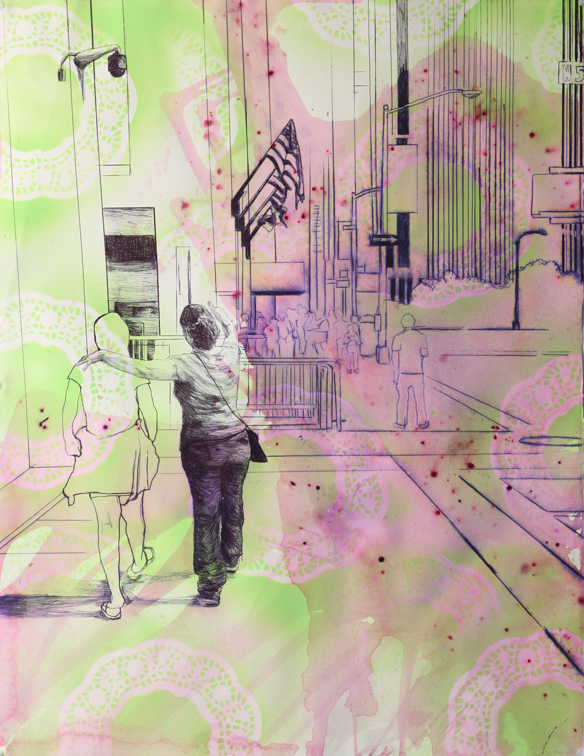 Two Doors Down – Works by Jennifer Basile and Bianca Pratorius