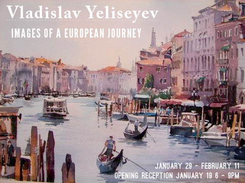 Vladislav Yeliseyev: Images of a European Journey