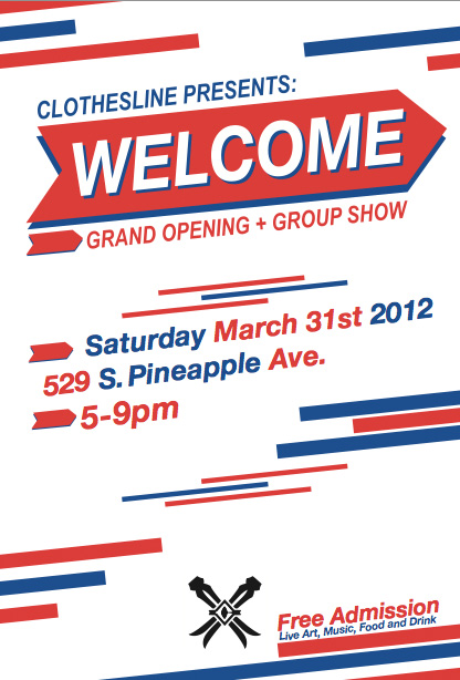 Clothesline Gallery Presents: WELCOME