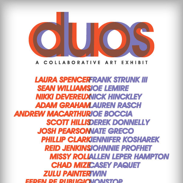 DUOS: A Collaborative Art Exhibit