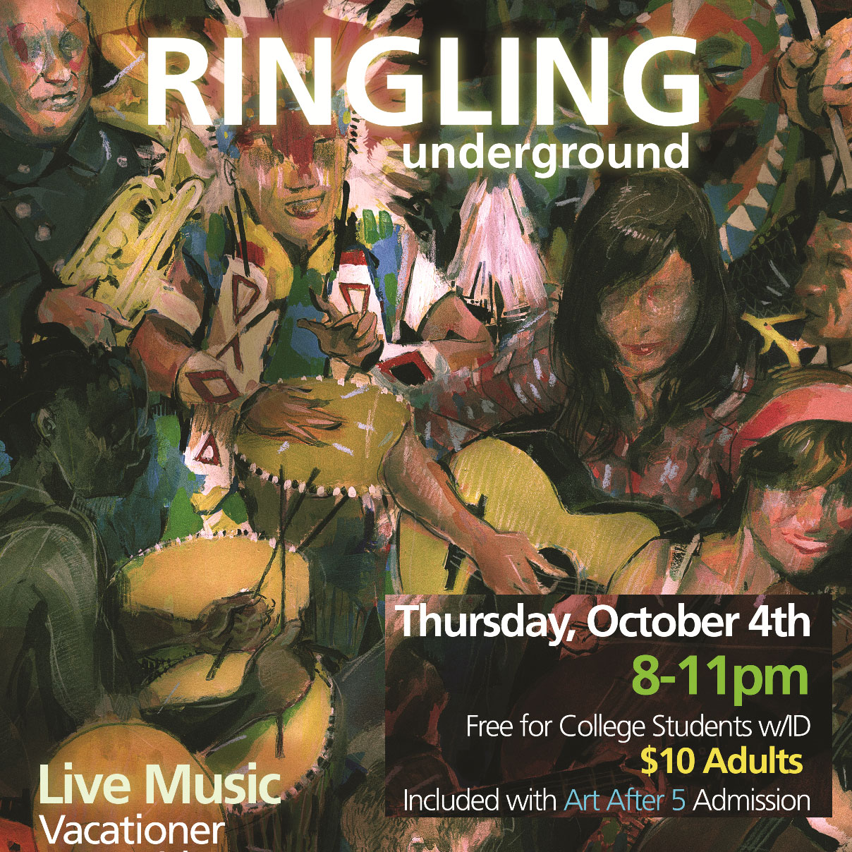 Ringling Underground – Thursday Night 10.04.12