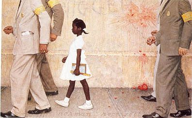 """""""Norman Rockwell Causes an Identity Crisis""""  by Pamela Beck"""