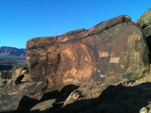 Anasazi Ridge Petroglyphs, in Southern Utah