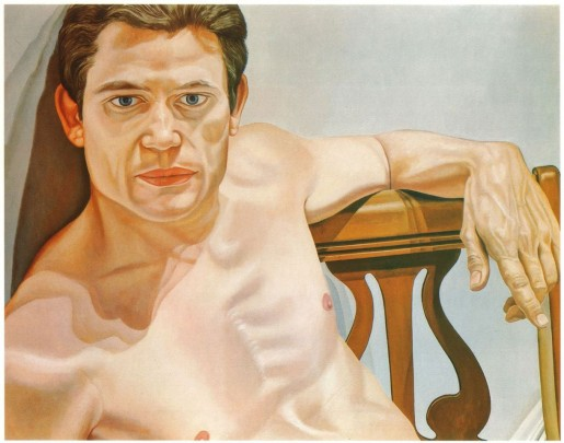 Philip Pearlstein (American, born 1924) Scott Burton (1975) Oil on canvas Collection of The Greene Family, Philadelphia