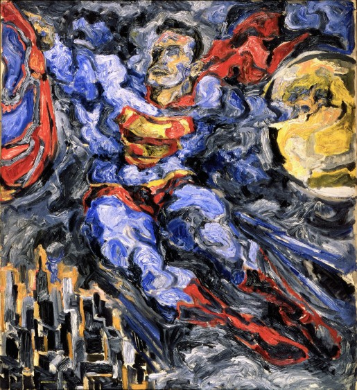 Philip Pearlstein (American, born 1924) Superman (1952) Oil on canvas Gift of Betsy Wittenborn Miller and Robert Miller The Museum of Modern Art, New York, N.Y. Digital Image © The Museum of Modern Art/Licensed by SCALA/Art Resource, NY