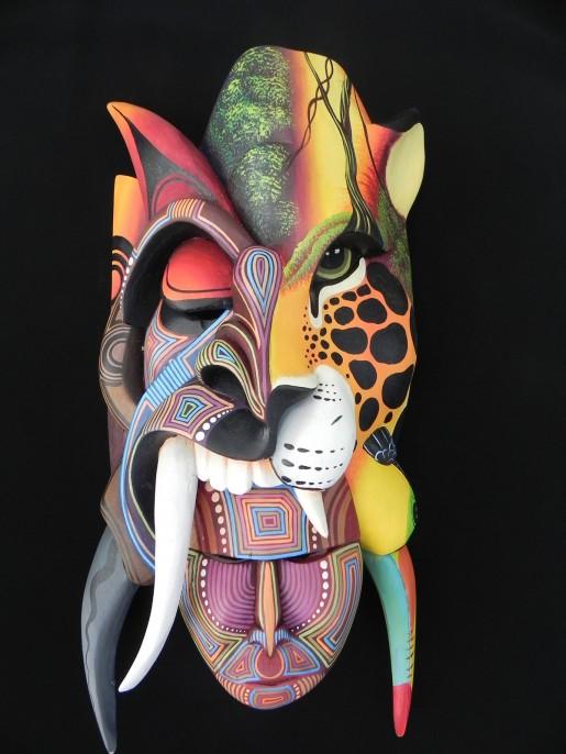 Borucan mask of Costa Rica
