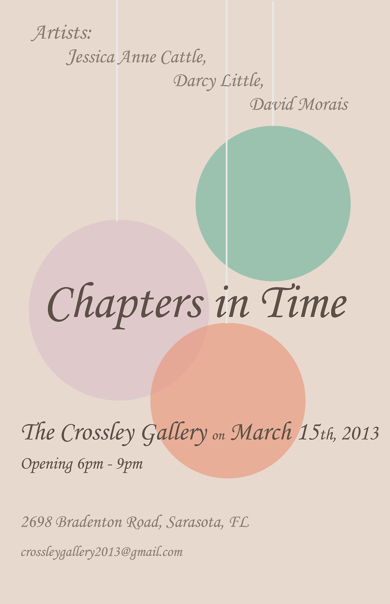 Chapters in Time
