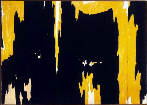 Clyfford Still, 1957-D No. 1, 1957, oil on canvas, 113 x 159 in