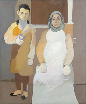 The Artist and His Mother (ca. 1926-1936) by Arshile Gorky
