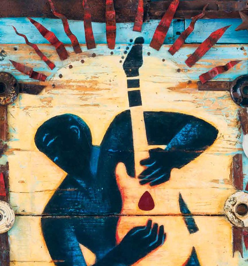 Mary GrandPré to Design 2013 Bradenton Blues Festival Poster