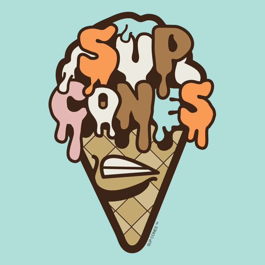 SUP CONES- HIP HOP meets ICE CREAM Art Exhibit