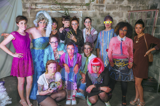 Gilded Rag Crew, Performance Fashion Show, 2013