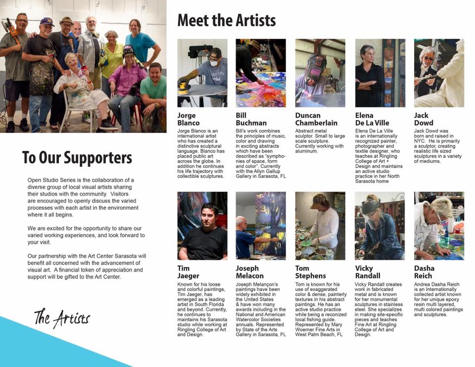 January Sarasota Open Studio Artists
