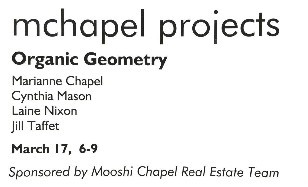 mchapel projects presents: Organic Geometry