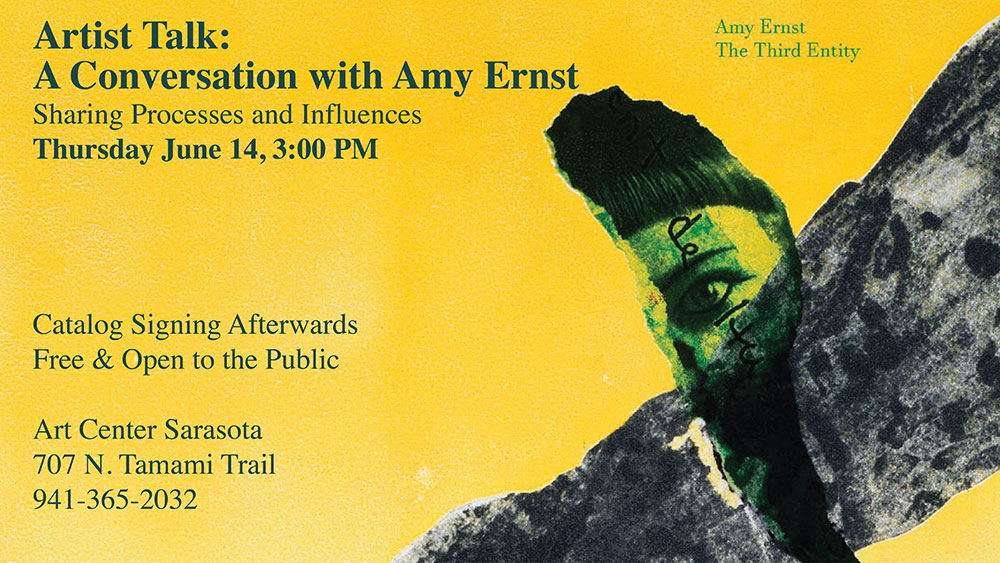 Artist Talk: A Conversation with Amy Ernst