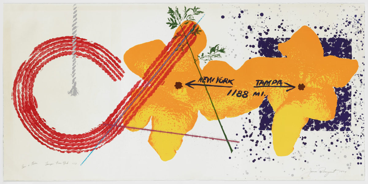 JAMES ROSENQUIST: TAMPA