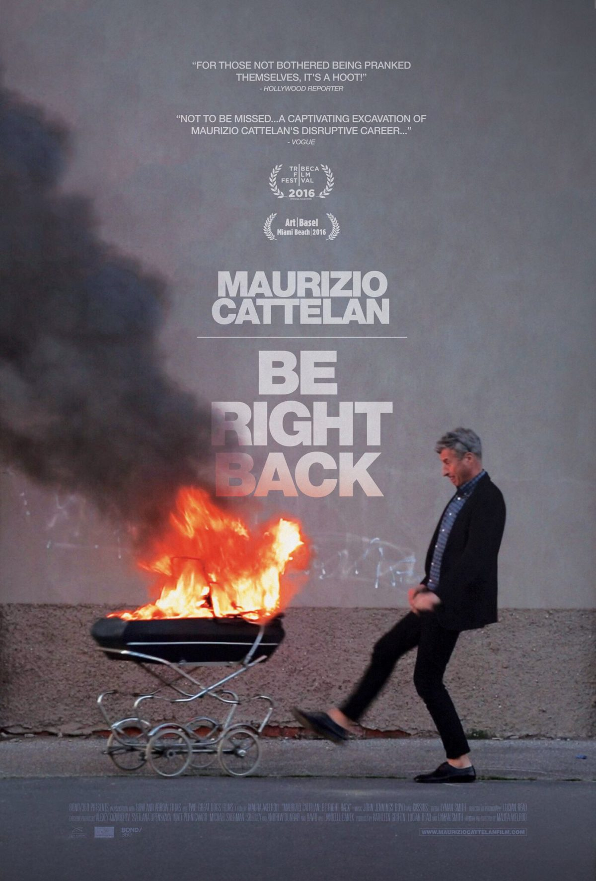 Art on Film – Maurizio Cattelan: Be Right Back