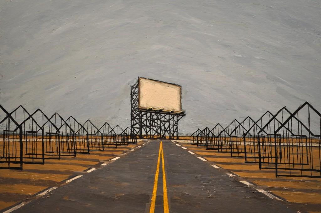 Painting by Jason Mitcham