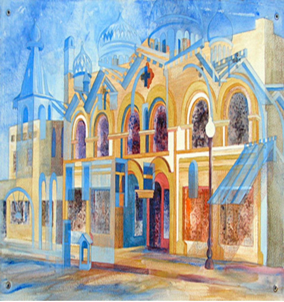 """Town Center"" by Joanna Coke"