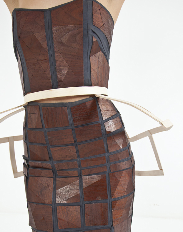 """The Wooden Dress"" by Whitley Floyd & Wood Street Studio"