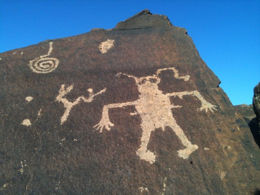 Anasazi Ridge Petroglyphs, in Southern Utah by Kasey Lou Lindley