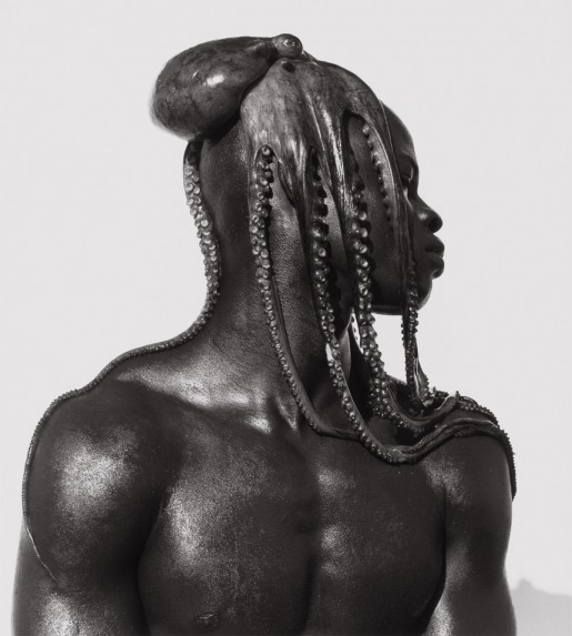 Herb Ritts (American, 1952 - 2002) Djimon with Octopus, Hollywood, 1989 Gelatin silver print Image: 50.8 x 40.6 cm (20 x 16 in.) Framed: 76.2 x 63.5 cm (30 x 25 in.) The J. Paul Getty Museum, Los Angeles, Gift of Herb Ritts Foundation, 2012.23.16 © Herb Ritts Foundation