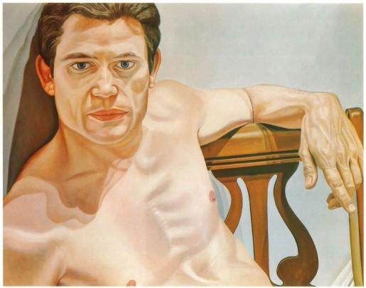 Philip Pearlstein (American, born 1924) Scott Burton (1975) Oil on canvas Collection of The Greene Family, Philadelphia