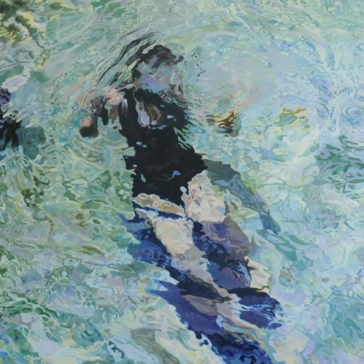 """Sweet Water Springs 1, oil on panel, 48"""" - 48"""""""