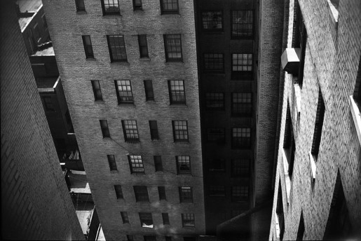 New York (View from Apartment Building), c. 1951-55, Vivian Maier