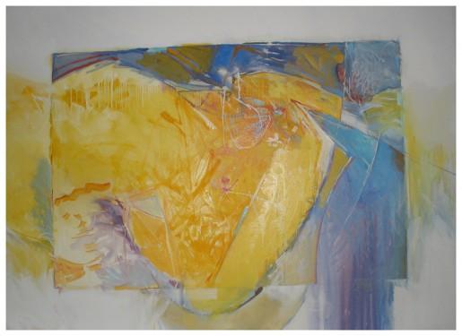 "Aurora, 2013, oil on canvas, 54"" x 72"""