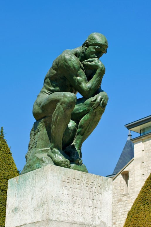 Le Penseur, (The Thinker), Auguste Rodin (1840-1917)