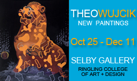 Theo Wujcik, New Paintings, Selby Gallery, October 2013