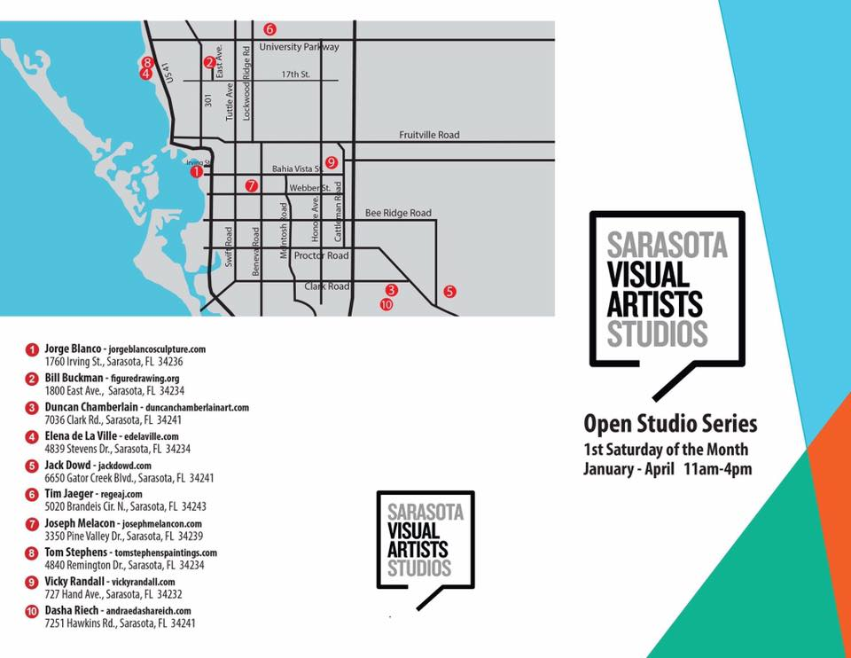 January Open Studio Locations
