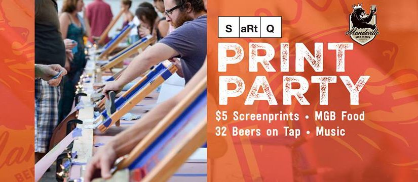SARTQ Print Party 2017
