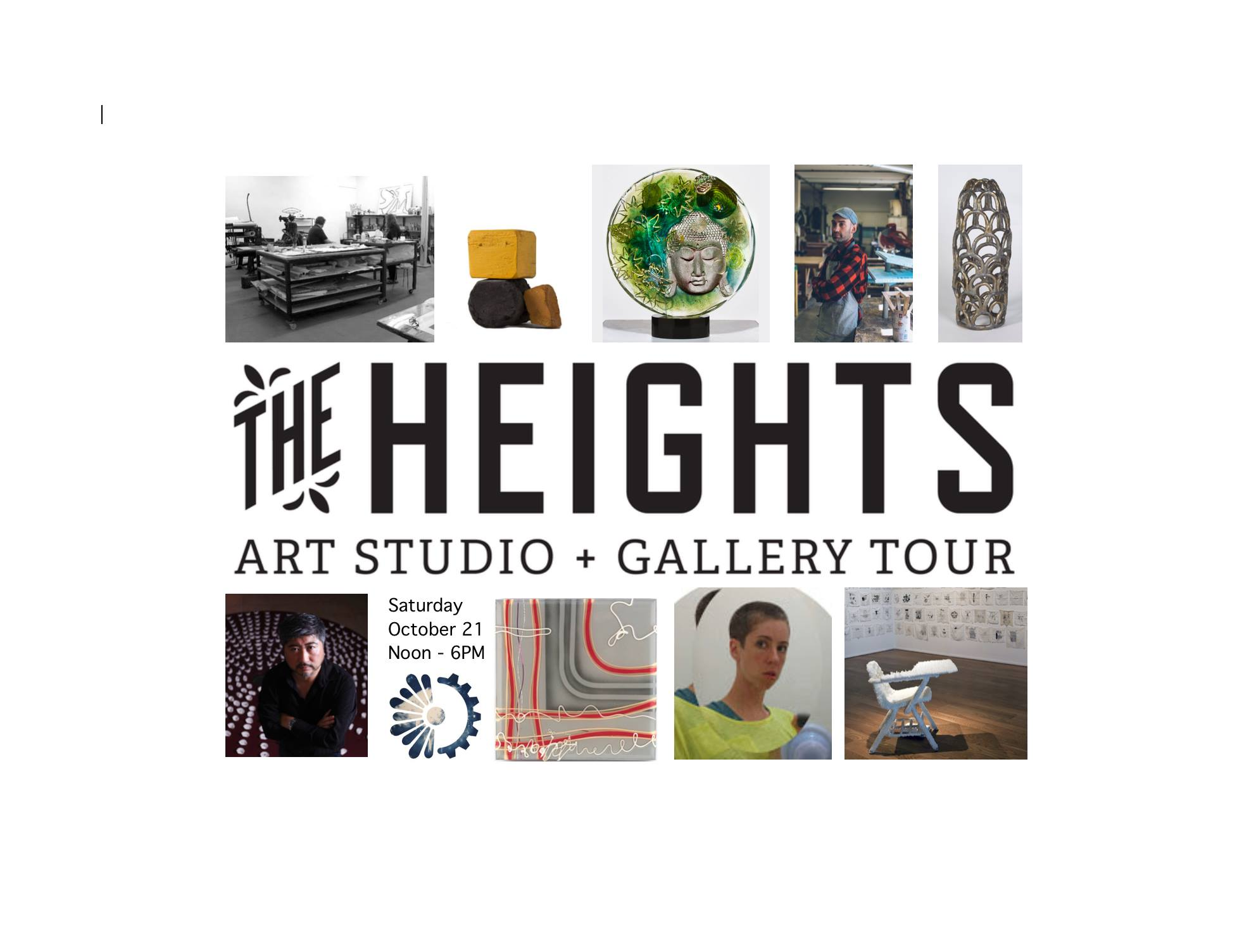 The Heights Art Studio + Gallery Tour